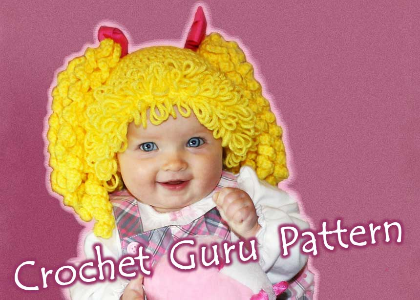 Crochet cabbage patch hat crochet cabbage patch hat pattern dt1010fo