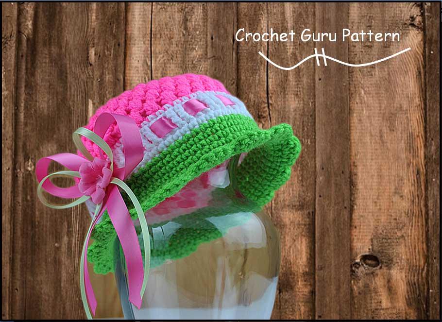 Crochet Cloche Hat Pattern