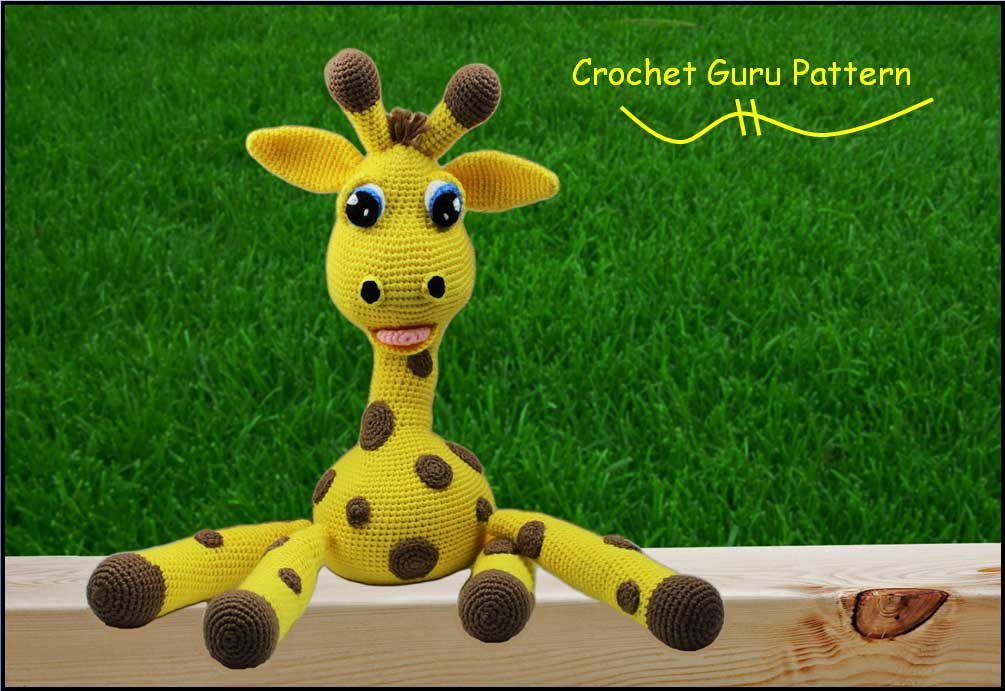 Crochet Giraffe Patterns You'll Love To Make | Crochet giraffe ... | 691x1005