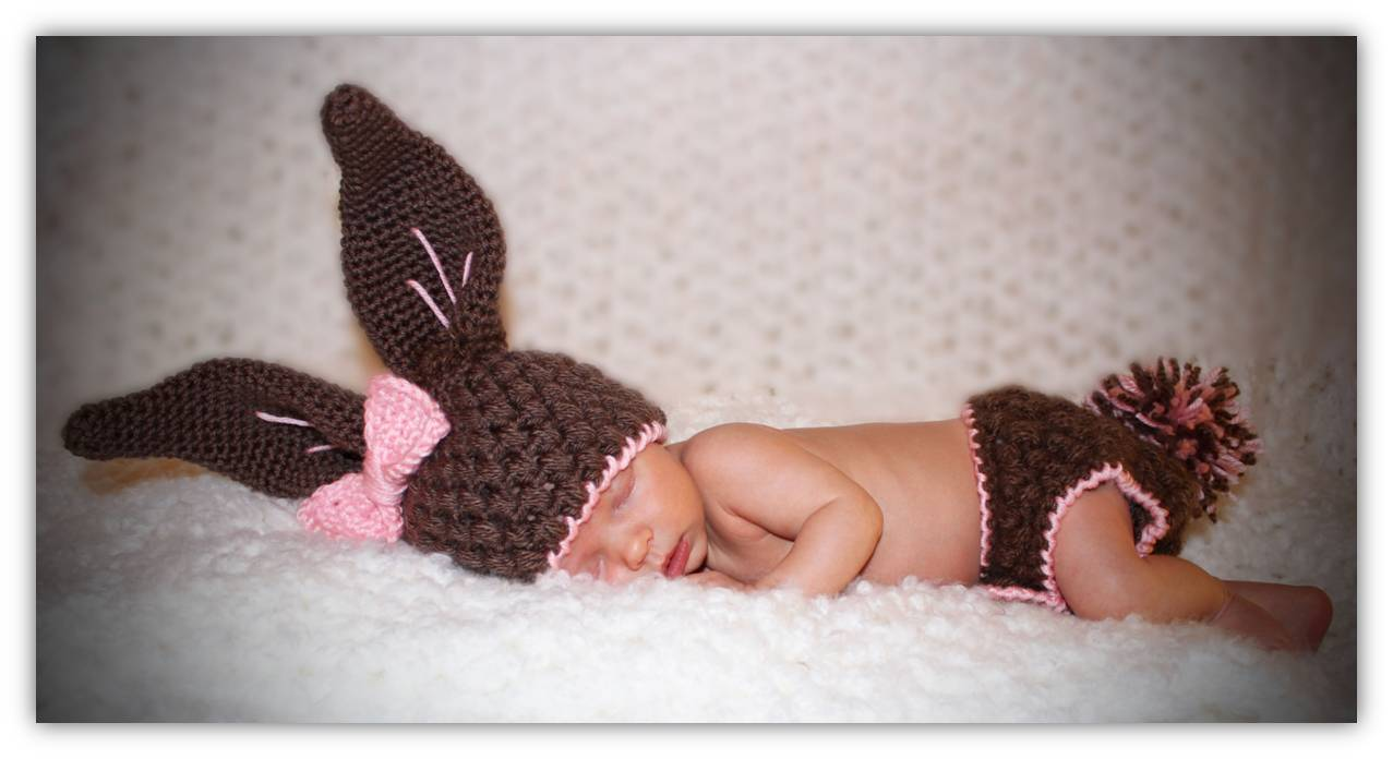 Crochet baby bunny hat and diaper cover pattern traitoro for crochet baby bunny hat dt1010fo